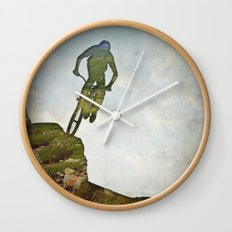 Biking Off Road Wall Clock