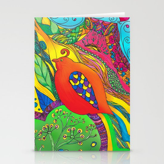 Psycho-Delic Dan Stationery Card