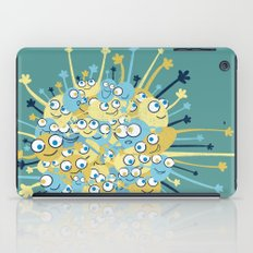 Bubbly Creatures Print iPad Case