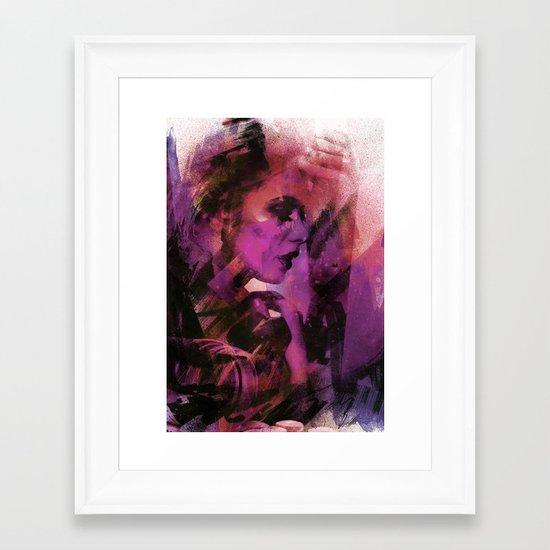 sb Framed Art Print