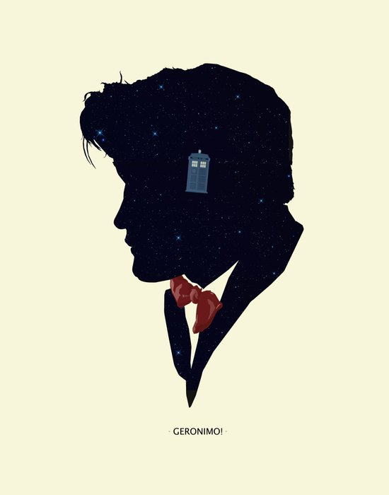 Dr Who - Geronimo Art Print