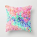 rain 12 Throw Pillow