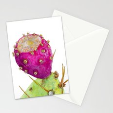 Prickly Pear Cactus Fruit Stationery Cards