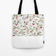 floral vines - neutrals Tote Bag