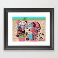 Underground Production Framed Art Print