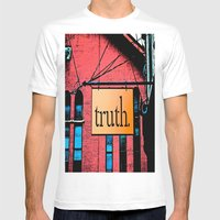 Truth Mens Fitted Tee White SMALL