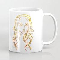 Yellow Portrait Mug