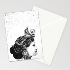 1920s Circus Queen Stationery Cards