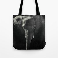 Tote Bag featuring Dark Memory ever by Msimioni