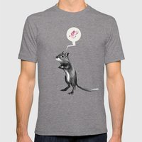 Must Have Nuts Mens Fitted Tee Tri-Grey SMALL