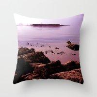 Pladda Sunset Throw Pillow