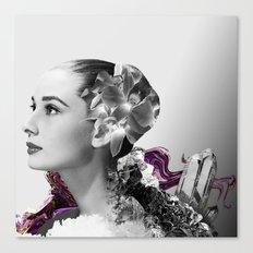 Quartz Armor & Orchids in Her Hair Canvas Print