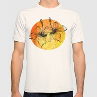 Citris Splash Mens Fitted Tee Natural SMALL