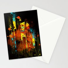 technicity lights Stationery Cards