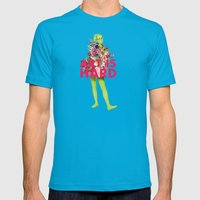 Art Is Hard - Flower Gir… Mens Fitted Tee Teal SMALL