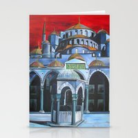 Sultan Ahmed Mosque, Istanbul  Stationery Cards