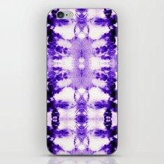 Tie Dye Purples iPhone & iPod Skin