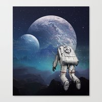 Searching Home Canvas Print