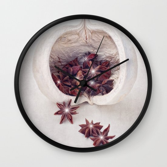 WINTER SECRETS Wall Clock