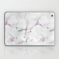 Magenta Cracked Design Laptop & iPad Skin