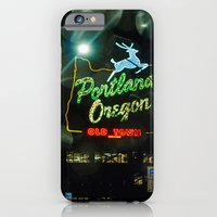 Old Town Sign And Raindr… iPhone 6 Slim Case