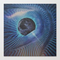 Planetary Explosion Canvas Print