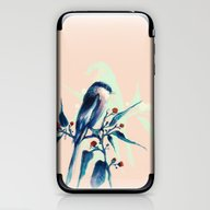 Hashtag Blue Bird iPhone & iPod Skin