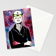 space bitch Stationery Cards