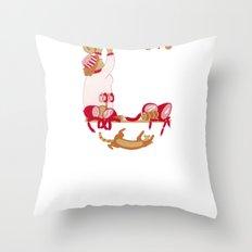 C as Charcutière (Pork butcher) Throw Pillow