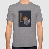 Like ships that pass in the night Mens Fitted Tee Athletic Grey SMALL