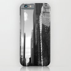 Reflection of the street iPhone 6 Slim Case