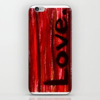 LOVE By KPD (Stretched) iPhone & iPod Skin