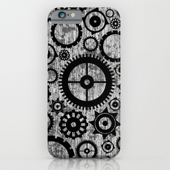 Grunge Cogs. iPhone & iPod Case