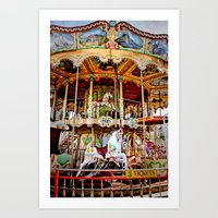 Double Decker Carnival C… Art Print
