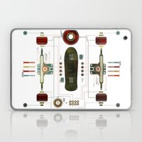 The Anatomy of a Skateboard Laptop & iPad Skin