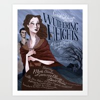 Wuthering Heights poster Art Print
