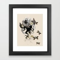 Lust Of An Angel Framed Art Print