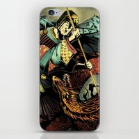 St George and the Dragon iPhone & iPod Skin