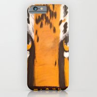 iPhone & iPod Case featuring Eye of the Tiger by Amanda Thomas