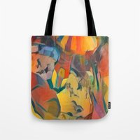 abstract Carnival ride Tote Bag