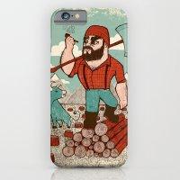 Paul Bunyan & Babe iPhone 6 Slim Case