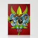 Ever seen an elephant (so) fly? Stationery Cards