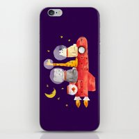 Let's All Go To Mars iPhone & iPod Skin