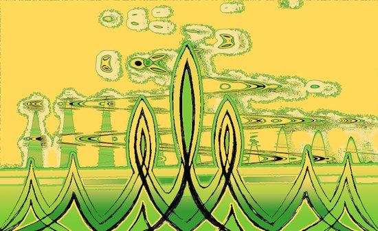 Lime Art Print