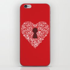The Key To My Heart iPhone & iPod Skin
