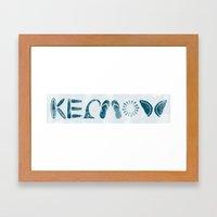 Kernow (Cornwall) Framed Art Print
