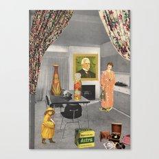 (Acting Like) Some Kind Of Fifties Housewife II Canvas Print