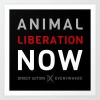 Liberation Now Art Print