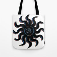Blue And Orange Egyptian… Tote Bag