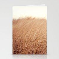 Golden Field Stationery Cards